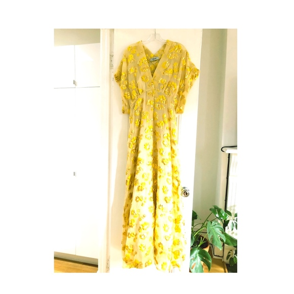Rachel Comey Dresses & Skirts - Rachel Comey Tendril Dress, Citron Begonia, Size 6